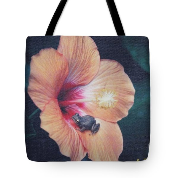 Coqui  Tote Bag by The Art of Alice Terrill