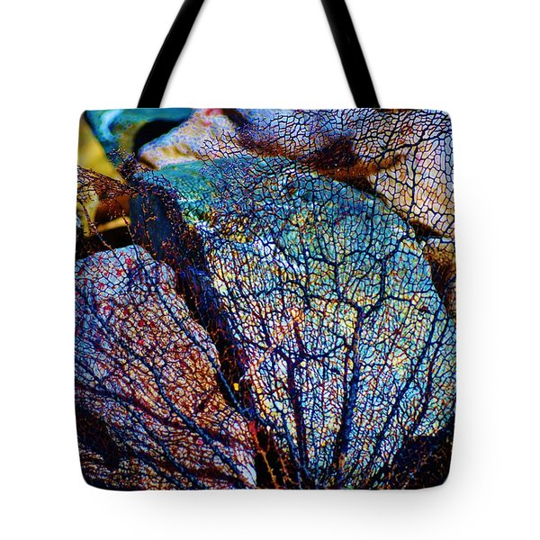 Coral Beached Tote Bag