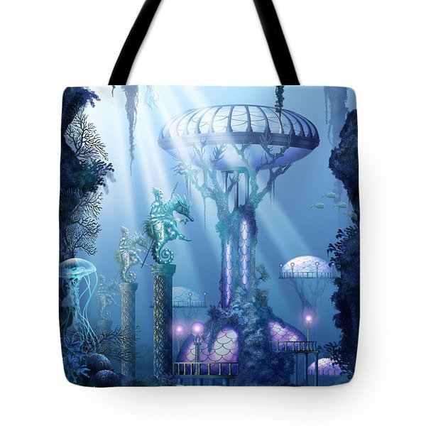 Coral City   Tote Bag by Ciro Marchetti