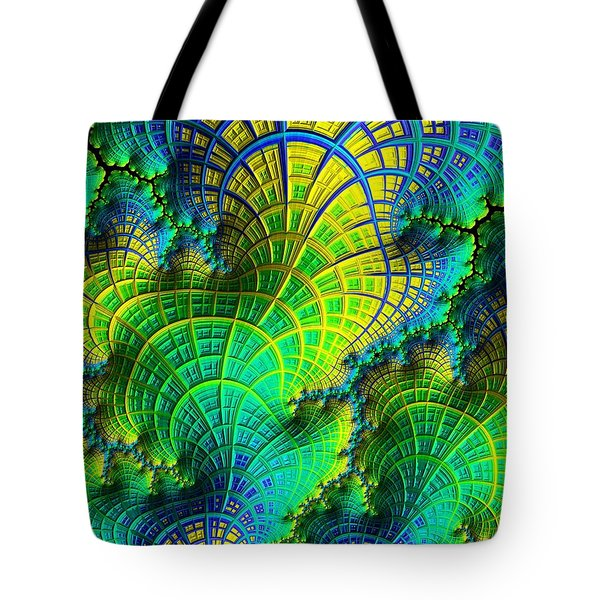 Coral Electric Tote Bag