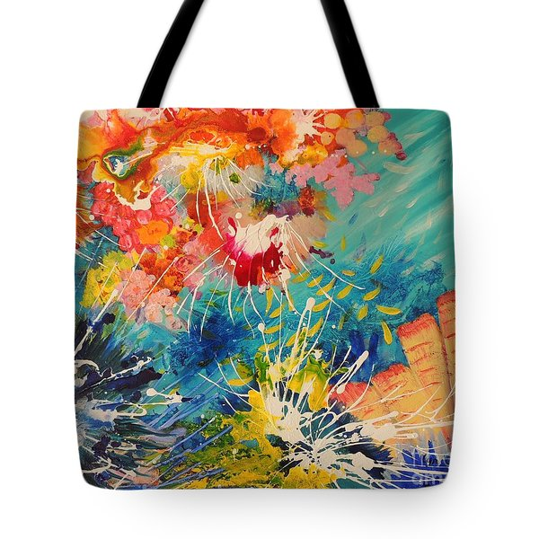 Coral Madness Tote Bag