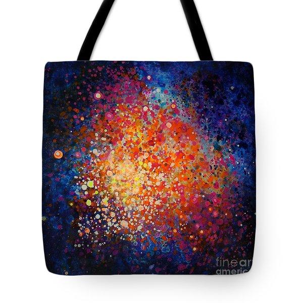 Coral Nebula #2 Tote Bag by Freddie Lieberman