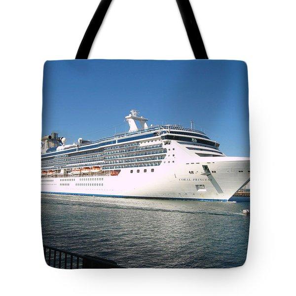 Coral Princess Tote Bag by Shoal Hollingsworth