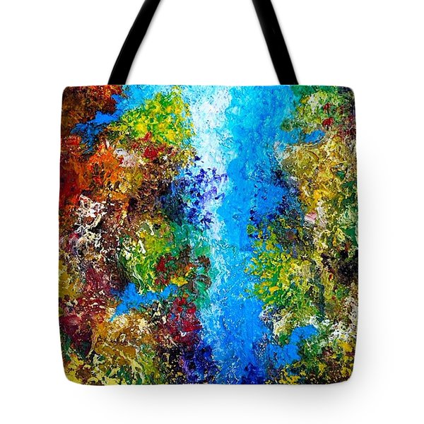Coral Tropical Tote Bag