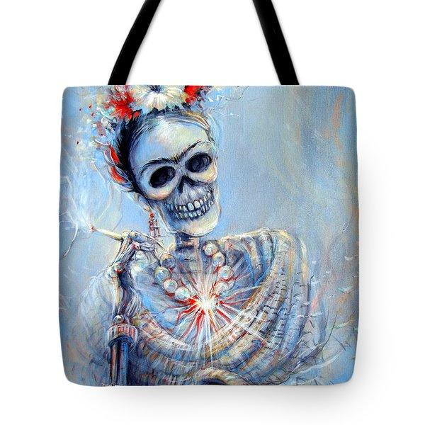 Corazon De Frida Tote Bag