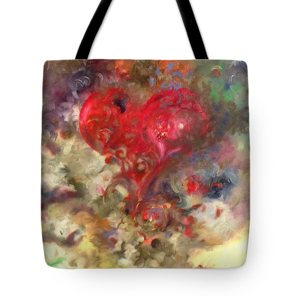 Corazon Tote Bag by Julio Lopez