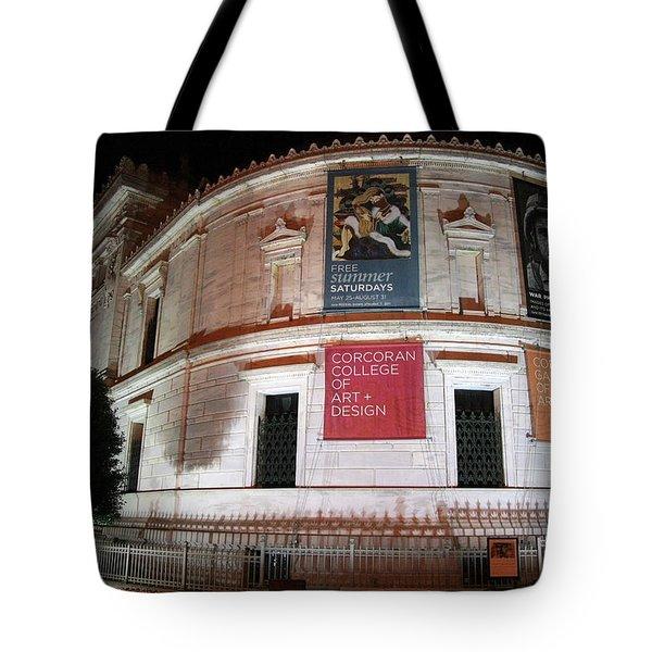 Corcoran Gallery Of Art Tote Bag
