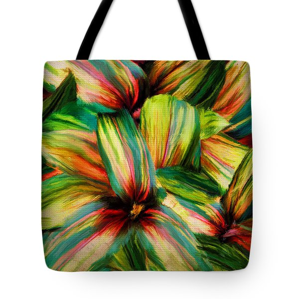 Cordyline Tote Bag by Lourry Legarde