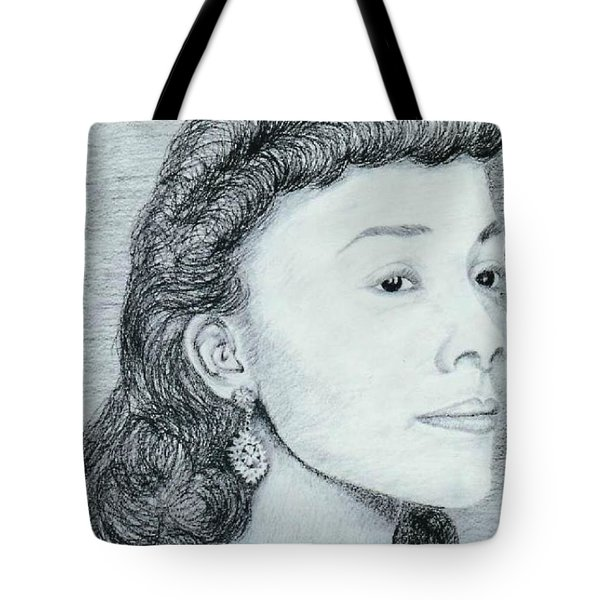 Coretta Scott King Tote Bag