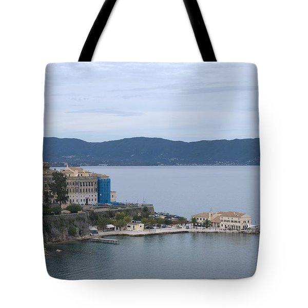 Corfu City 4 Tote Bag