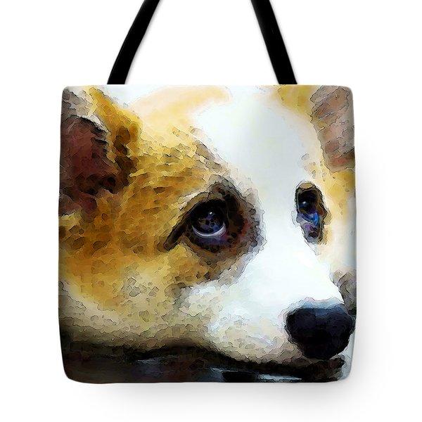 Corgi Art - That Look Tote Bag