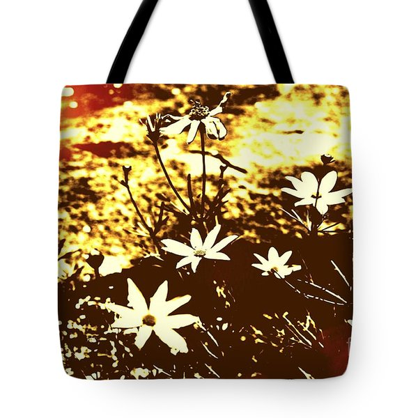 Tote Bag featuring the photograph Coriopsis by Denise Tomasura
