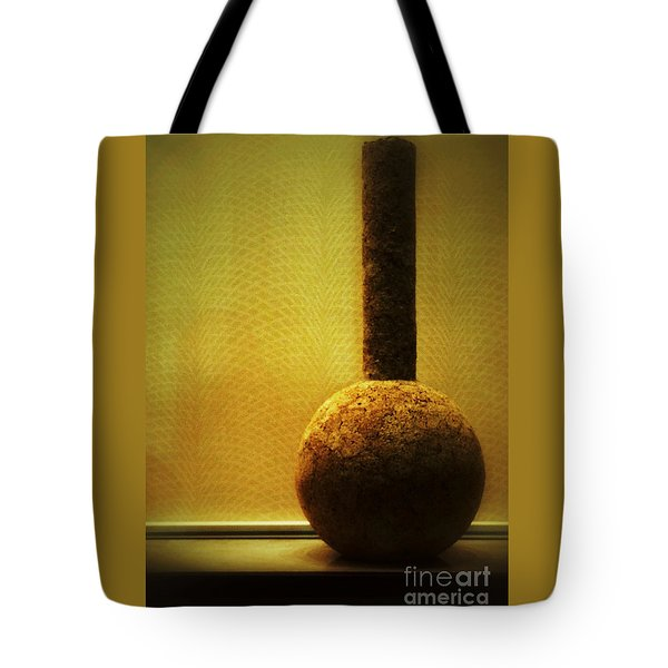 Cork Vase Tote Bag by Darla Wood