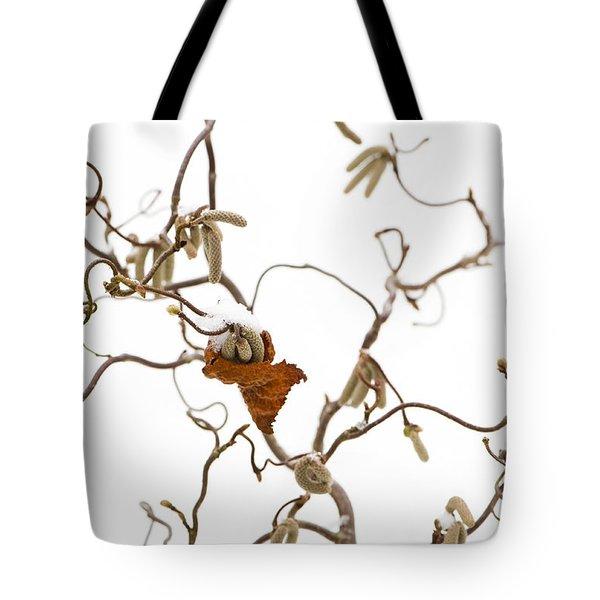Corkscrew Tote Bag by Anne Gilbert