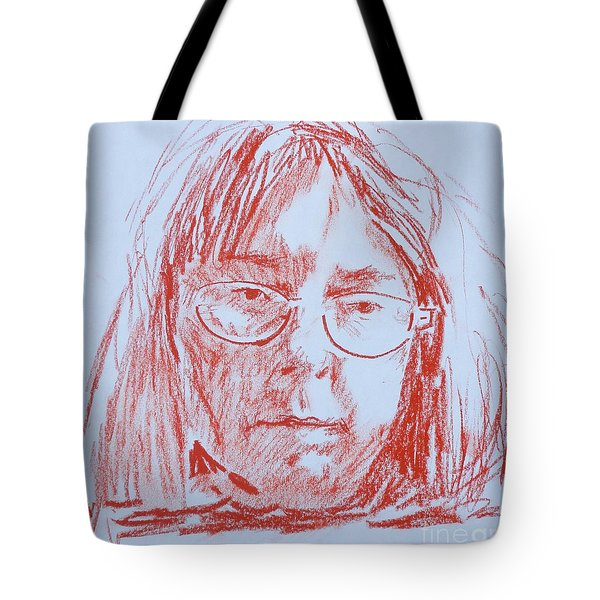 Corliss' Portrait Tote Bag