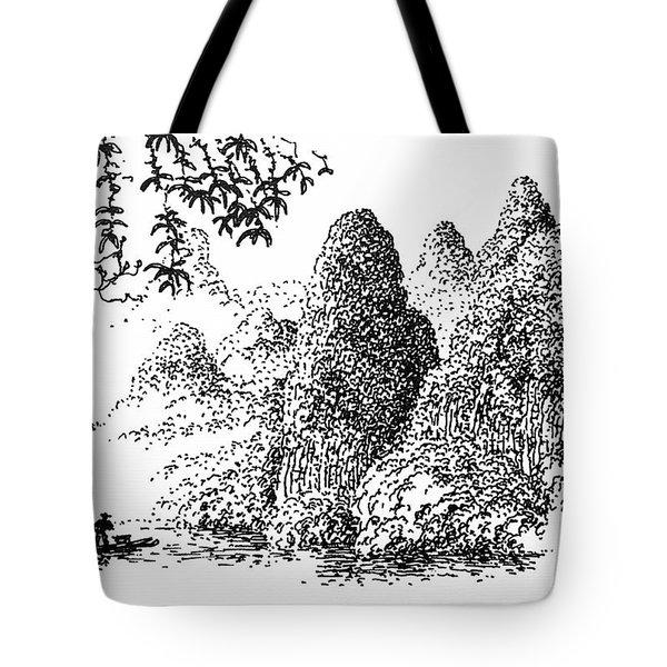Cormoran Fishing Tote Bag
