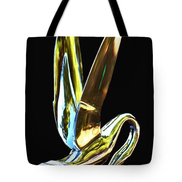 Cormorant Ornament Tote Bag by Jean Noren