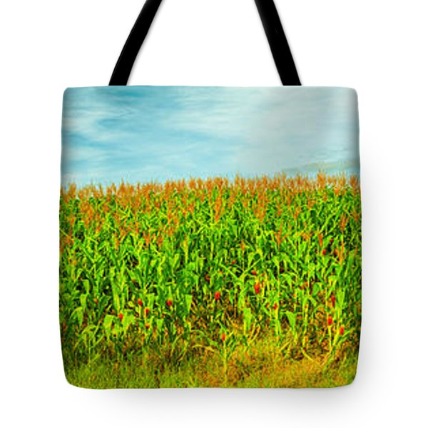 Corn Crop Tote Bag by MotHaiBaPhoto Prints