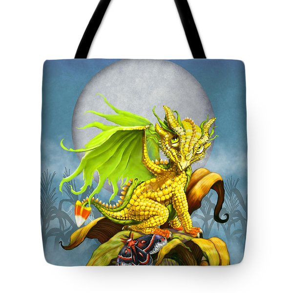 Corn Dragon Tote Bag