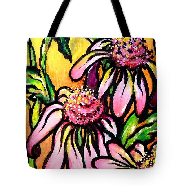Corn Flowers Tote Bag