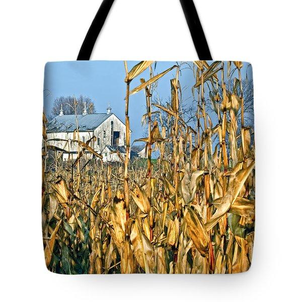Corn Framed Barn Tote Bag