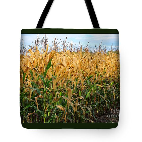Corn Harvest Tote Bag by Terri Gostola