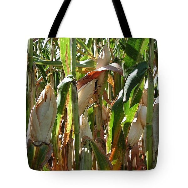 Corn Tote Bag by Joseph Yarbrough