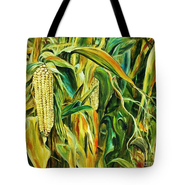 Spirit Of The Corn Tote Bag by Anna-maria Dickinson
