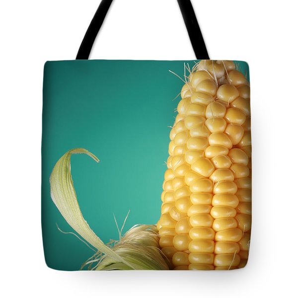 Corn On The Cob Tote Bag by Sharon Dominick