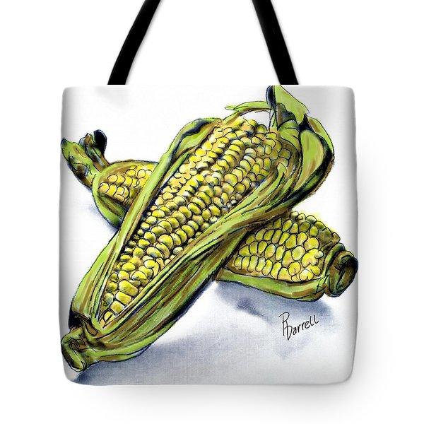 Corn Study Tote Bag