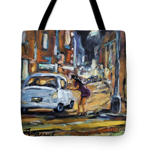 Corner Deal By Prankearts Tote Bag by Richard T Pranke