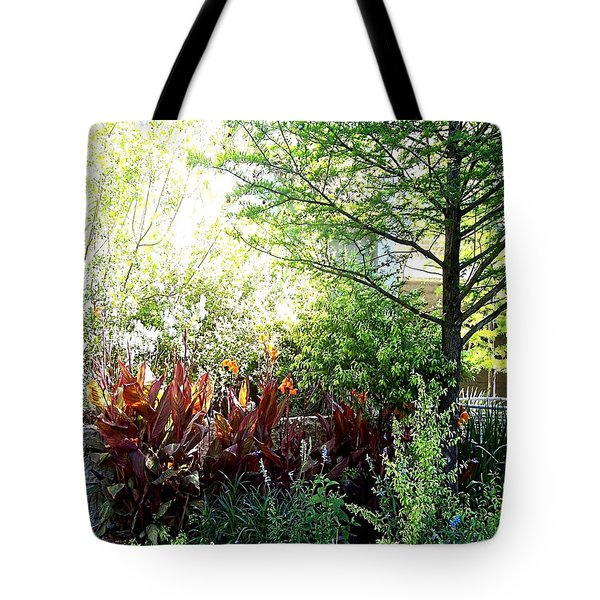 Corner Garden Tote Bag