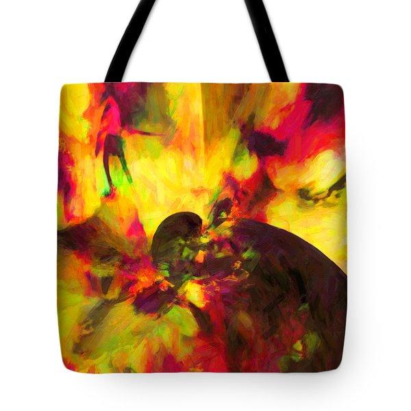Tote Bag featuring the digital art Corner Of Discovery by Joe Misrasi