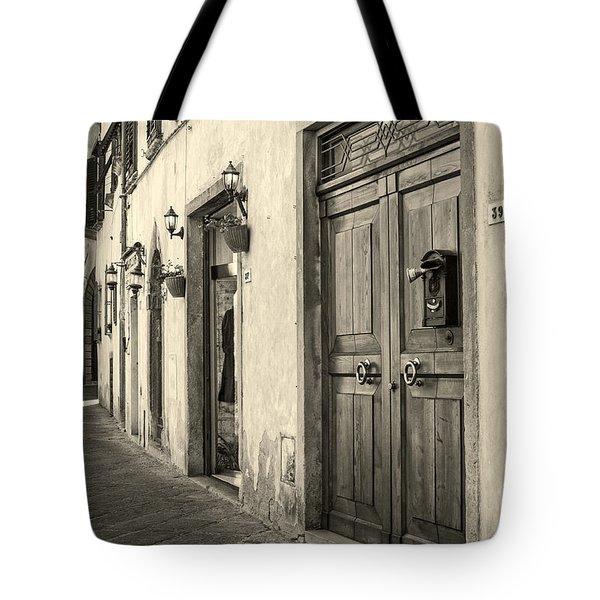 Corner Of Volterra Tote Bag