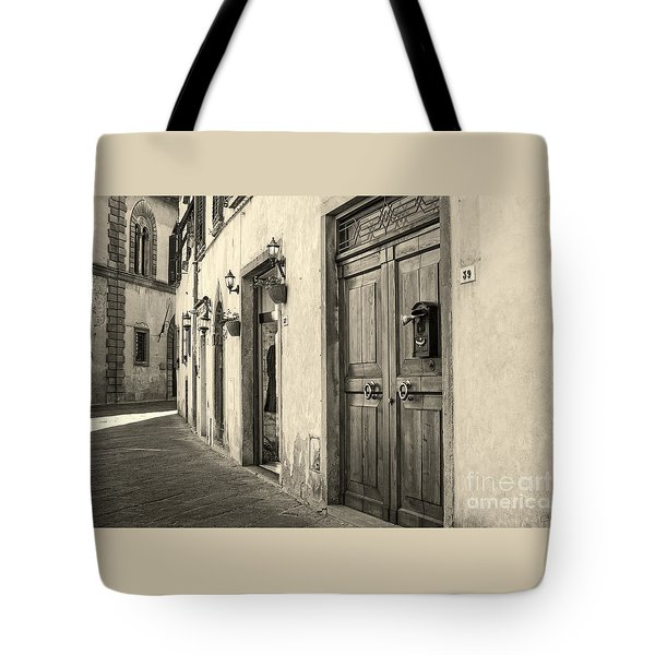 Corner Of Volterra Tote Bag