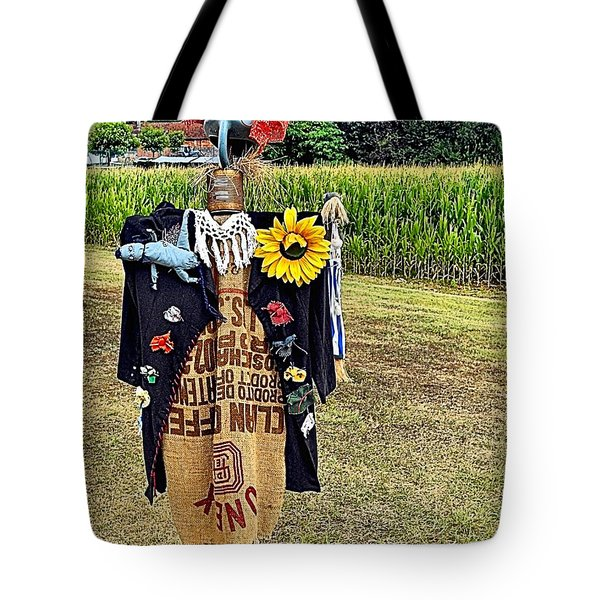 Cornfield Fete Tote Bag by Lauren Leigh Hunter Fine Art Photography