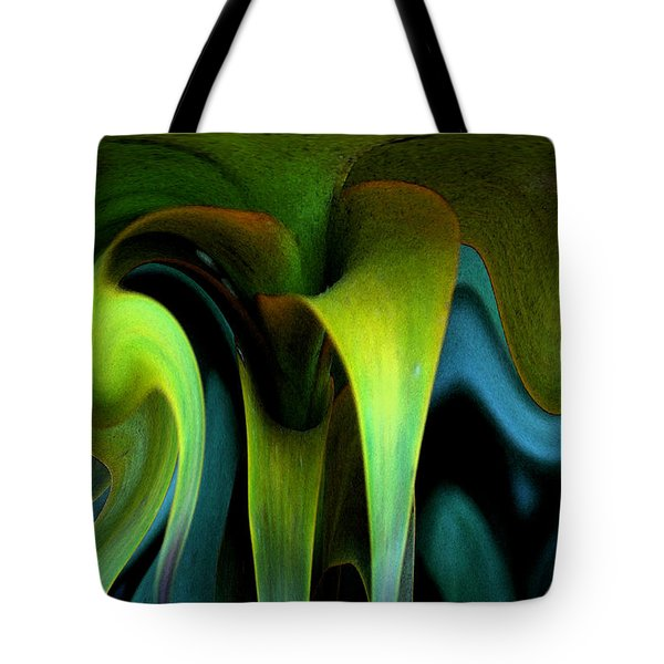 Cornflower Abstract No1 Tote Bag