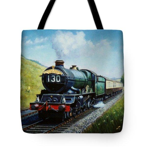 Cornish Riviera To Paddington. Tote Bag