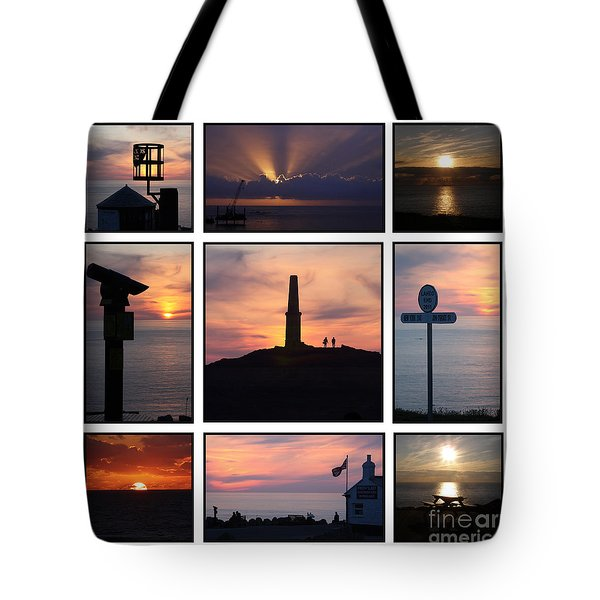 Tote Bag featuring the photograph Cornish Sunsets by Terri Waters