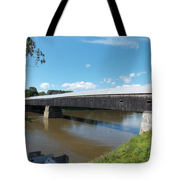 Cornish Windsor Bridge Tote Bag
