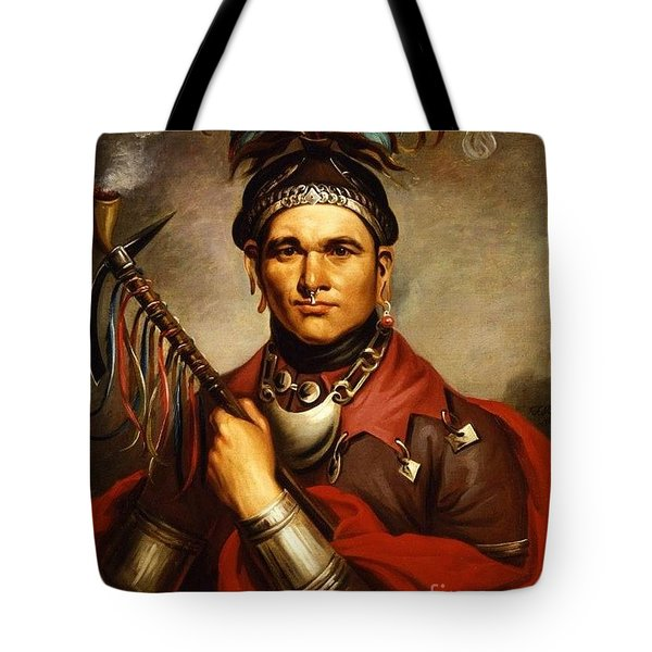 Cornplanter Tote Bag by Pg Reproductions