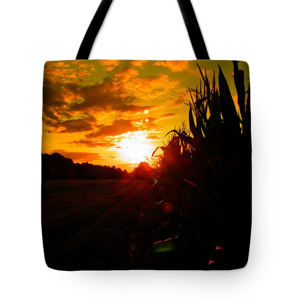 Cornset Tote Bag