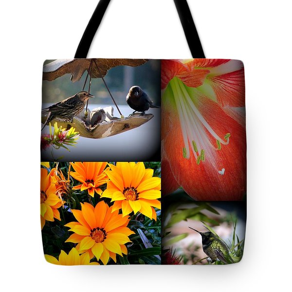 Cornucopia Garden Tote Bag by Priscilla Richardson