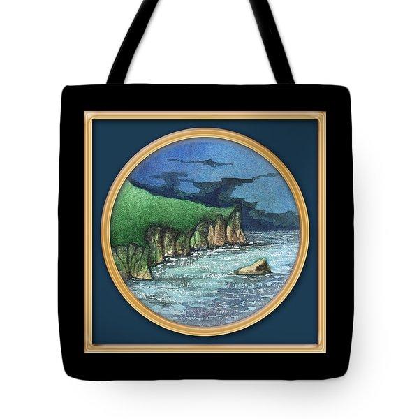 Cornwall Cliffs Tote Bag