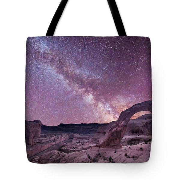 Corona Arch Milky Way Tote Bag