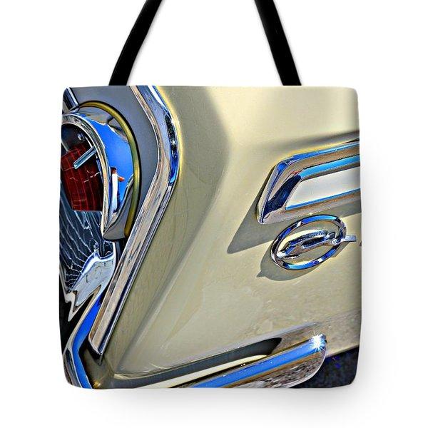 Coronna Cream 1962 Impala Tote Bag