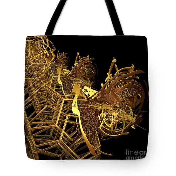 Corporate Ladder By Jammer Tote Bag by First Star Art