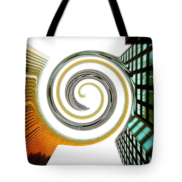 Corporate Merging Tote Bag by Valentino Visentini