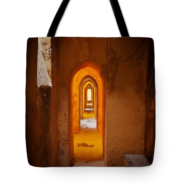 Corridor In The Real Alcazar Of Seville Tote Bag