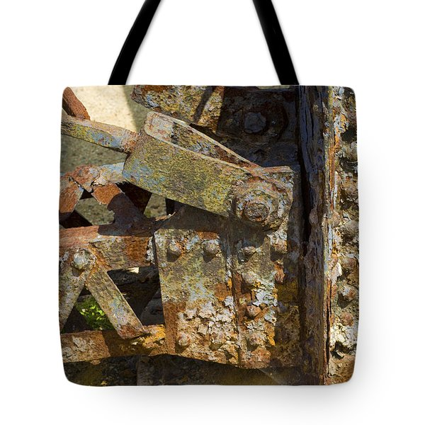Corroded Steel Tote Bag
